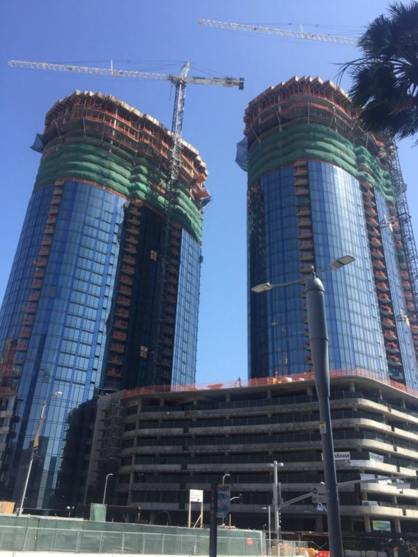 Circa Luxury Condos 1200 S. Figueroa, (2) 35 Story Towers